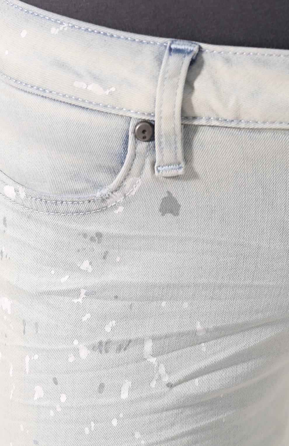 Женские джинсы black label HARLEY-DAVIDSON белого цвета, арт. 96375-16VW | Фото 5