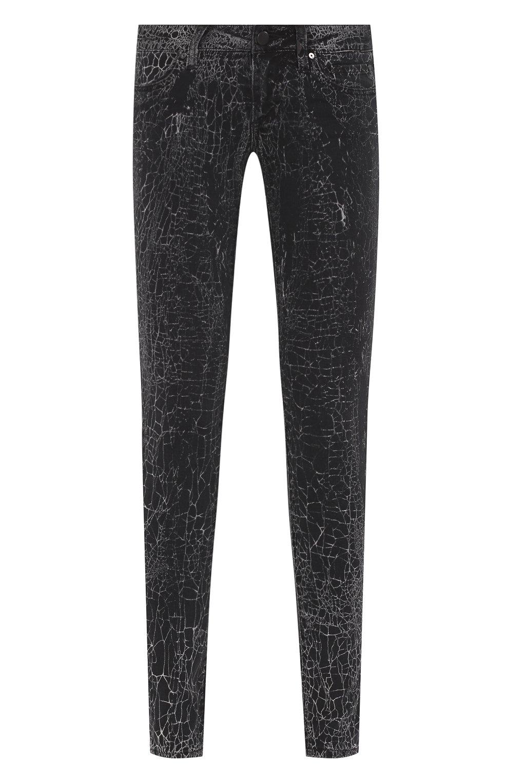 Женские джинсы black label HARLEY-DAVIDSON черного цвета, арт. 96373-16VW   Фото 1