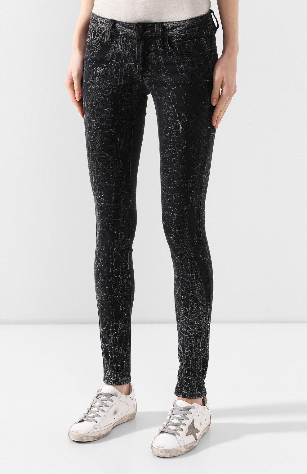 Женские джинсы black label HARLEY-DAVIDSON черного цвета, арт. 96373-16VW   Фото 3