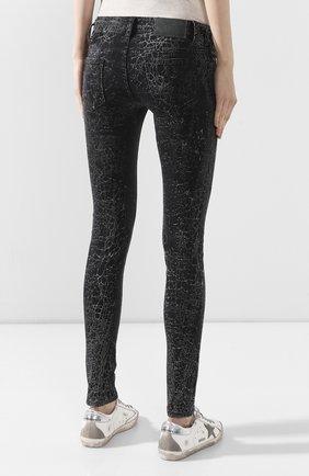 Женские джинсы black label HARLEY-DAVIDSON черного цвета, арт. 96373-16VW   Фото 4