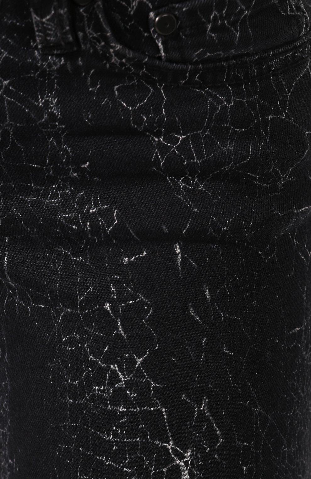 Женские джинсы black label HARLEY-DAVIDSON черного цвета, арт. 96373-16VW   Фото 5