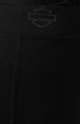 Женские леггинсы h-d moto HARLEY-DAVIDSON черного цвета, арт. 99128-19VW   Фото 5