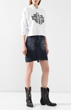 Женская худи genuine motorclothes HARLEY-DAVIDSON белого цвета, арт. 96494-20VW   Фото 2