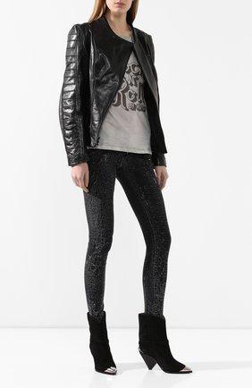 Женская кожаная куртка h-d moto HARLEY-DAVIDSON черного цвета, арт. 98008-20EW | Фото 2