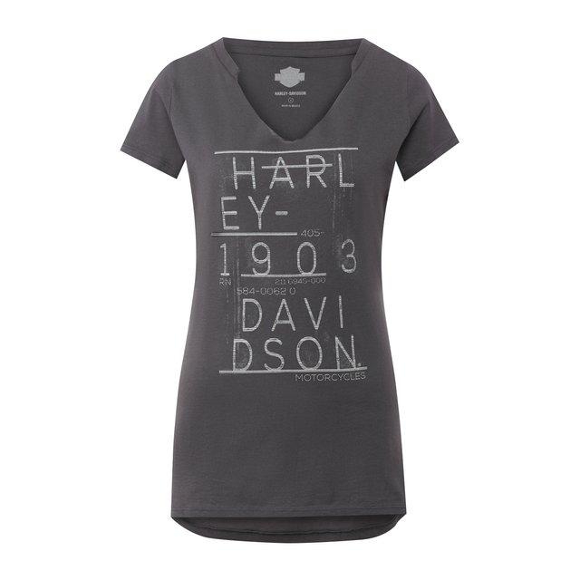 Хлопковая футболка Black Label Harley-Davidson