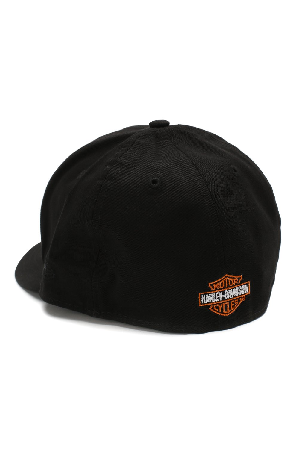 Мужской хлопковая бейсболка genuine motorclothes HARLEY-DAVIDSON черного цвета, арт. 99515-12VM   Фото 2
