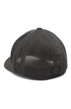 Мужской бейсболка genuine motorclothes HARLEY-DAVIDSON серого цвета, арт. 99410-16VM   Фото 2 (Материал: Хлопок, Текстиль)