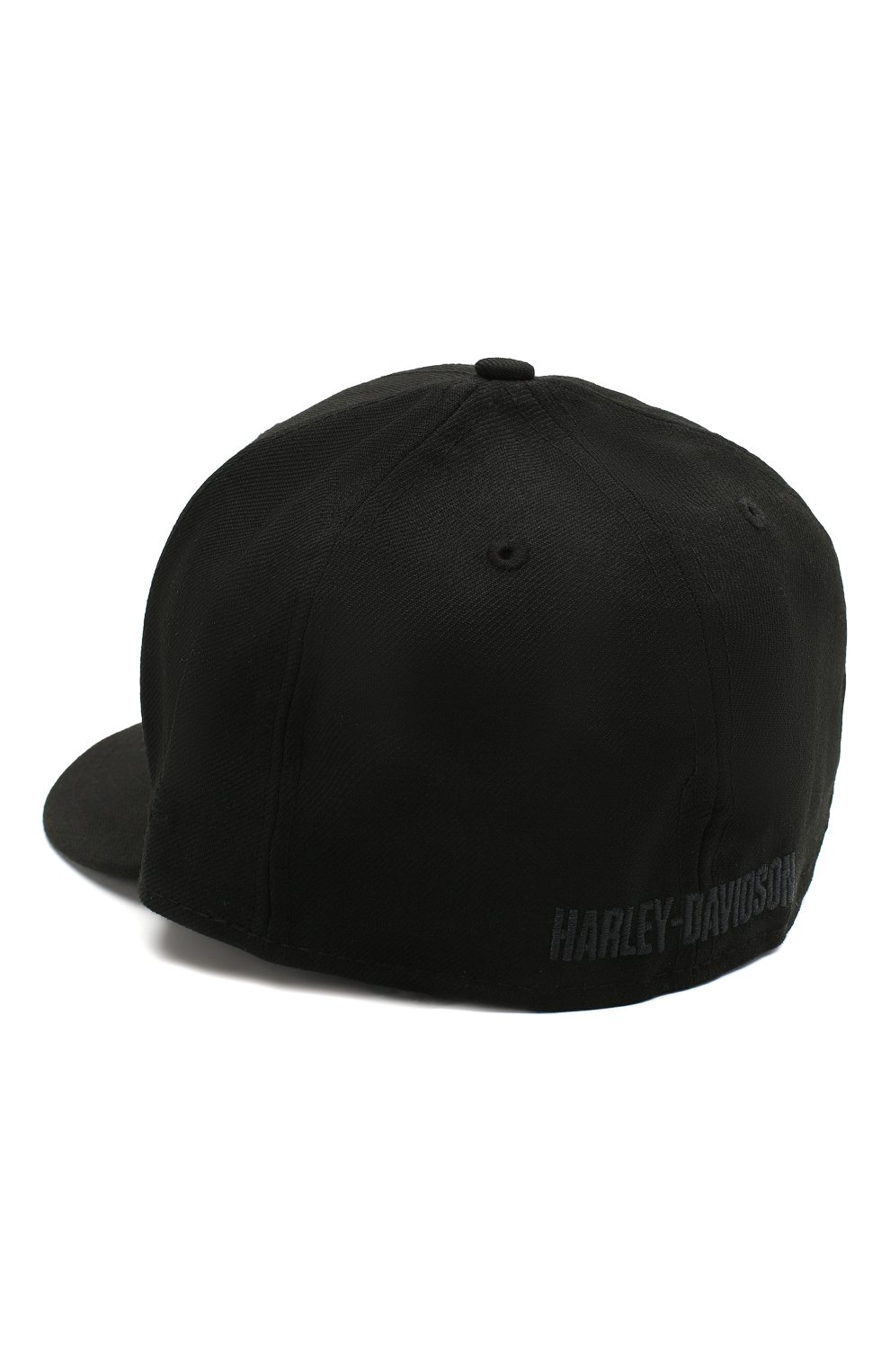 Мужской хлопковая бейсболка genuine motorclothes HARLEY-DAVIDSON черного цвета, арт. 99514-12VM   Фото 2 (Материал: Текстиль, Хлопок)