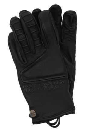 Мужские кожаные перчатки h-d moto HARLEY-DAVIDSON черного цвета, арт. 98154-20VM | Фото 1