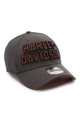 Мужской бейсболка genuine motorclothes HARLEY-DAVIDSON серого цвета, арт. 99420-20VM | Фото 1