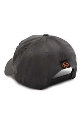 Мужской бейсболка genuine motorclothes HARLEY-DAVIDSON серого цвета, арт. 99420-20VM | Фото 2