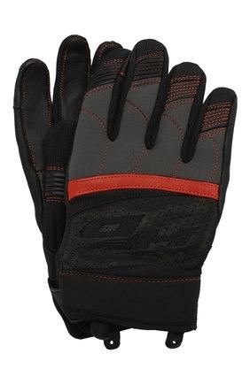 Мужские комбинированные перчатки genuine motorclothes HARLEY-DAVIDSON черного цвета, арт. 98151-20VM | Фото 1