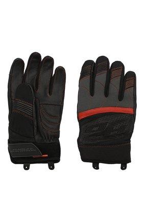 Мужские комбинированные перчатки genuine motorclothes HARLEY-DAVIDSON черного цвета, арт. 98151-20VM | Фото 2