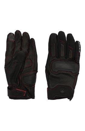 Мужские комбинированные перчатки fxrg HARLEY-DAVIDSON черного цвета, арт. 98296-20VM | Фото 2
