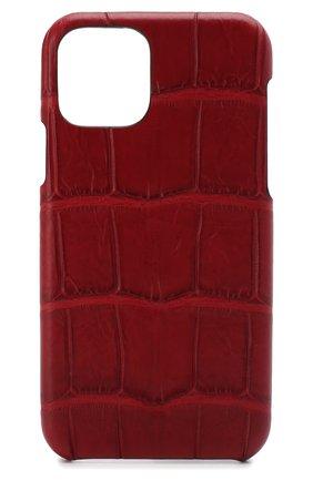 Мужской чехол для iphone 11 pro 2MESTYLE красного цвета, арт. DD289/CSIA | Фото 1