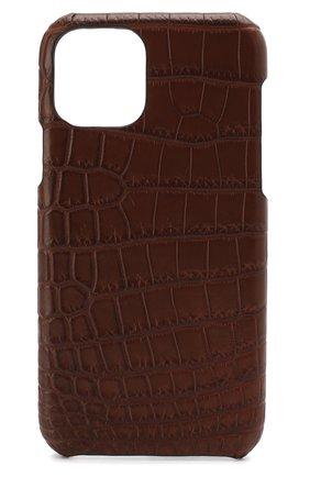 Мужской чехол для iphone 11 pro 2MESTYLE коричневого цвета, арт. DD294/CSIA | Фото 1