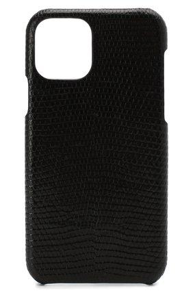 Мужской чехол для iphone 11 pro 2MESTYLE черного цвета, арт. DD317/VNIL | Фото 1