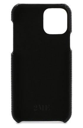 Мужской чехол для iphone 11 pro 2MESTYLE черного цвета, арт. DD317/VNIL | Фото 2