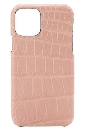 Мужской чехол для iphone 11 pro 2MESTYLE розового цвета, арт. DD321/CSIA | Фото 1