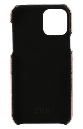 Мужской чехол для iphone 11 pro 2MESTYLE розового цвета, арт. DD321/CSIA | Фото 2