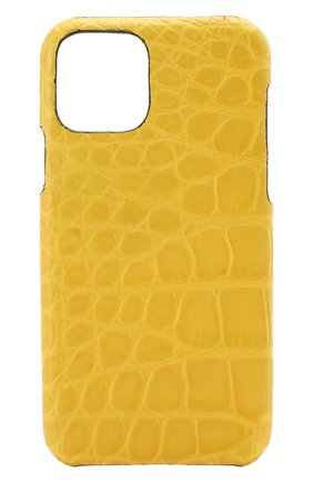 Мужской чехол для iphone 11 pro 2MESTYLE желтого цвета, арт. DD323/CSIA | Фото 1