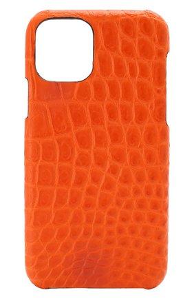 Мужской чехол для iphone 11 pro 2MESTYLE оранжевого цвета, арт. DD324/CSIA | Фото 1