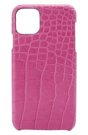 Мужской чехол для iphone 11 pro max 2MESTYLE фуксия цвета, арт. DD330/CSIA | Фото 1