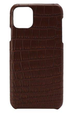 Мужской чехол для iphone 11 pro max 2MESTYLE коричневого цвета, арт. DD332/CSIA | Фото 1