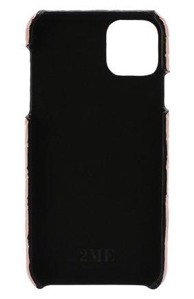 Мужской чехол для iphone 11 pro max 2MESTYLE розового цвета, арт. DD333/CSIA | Фото 2