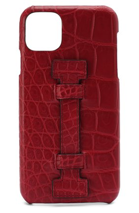 Мужской чехол для iphone 11 pro max 2MESTYLE красного цвета, арт. DD337/CSIA | Фото 1