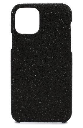 Мужской чехол для iphone 11 pro 2MESTYLE черного цвета, арт. DD309 | Фото 1