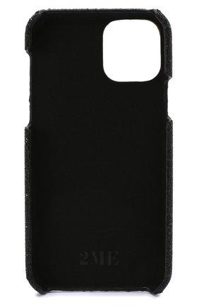 Мужской чехол для iphone 11 pro 2MESTYLE черного цвета, арт. DD309 | Фото 2