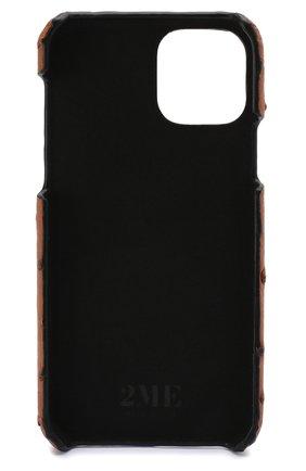 Мужской чехол для iphone 11 pro 2MESTYLE коричневого цвета, арт. DD313 | Фото 2