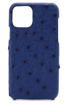Мужской чехол для iphone 11 pro 2MESTYLE синего цвета, арт. DD315 | Фото 1