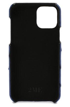 Мужской чехол для iphone 11 pro 2MESTYLE синего цвета, арт. DD315 | Фото 2