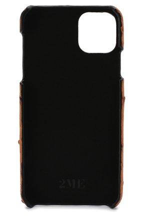 Мужской чехол для iphone 11 pro max 2MESTYLE коричневого цвета, арт. DD354 | Фото 2