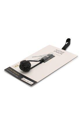 Мужской брелок с зарядным кабелем key cable NATIVE UNION черного цвета, арт. KEY-KV-L-CS-BLK | Фото 2