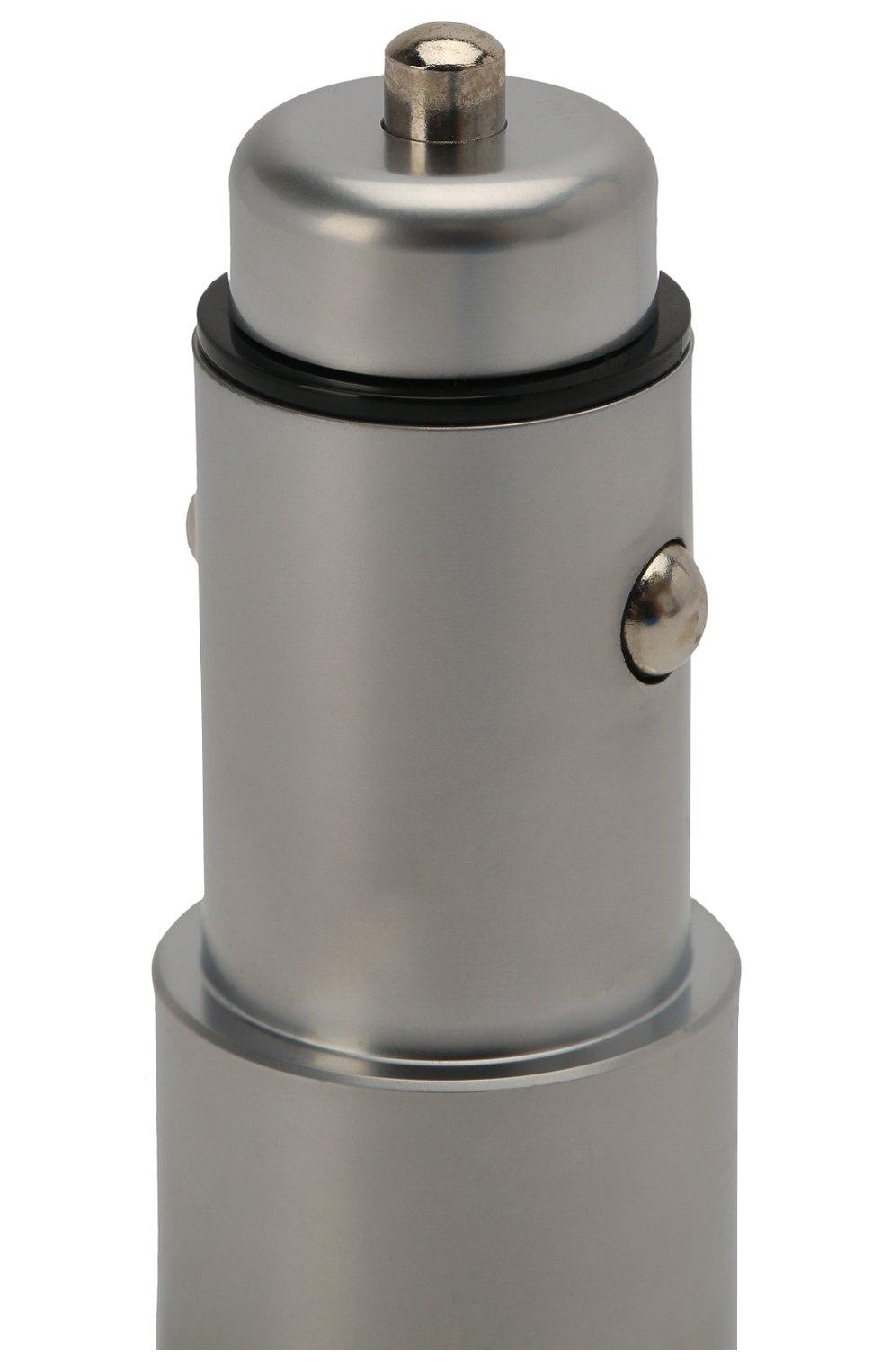 Мужского автомобильное зарядное устройство UBEAR серого цвета, арт. CC03GR01-AD | Фото 3