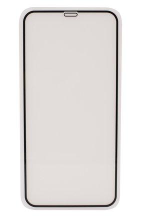 Мужское защитное стекло nano 2 full cover для iphone 11 pro/xs/x UBEAR черного цвета, арт. GL51BL02N-I19 | Фото 1