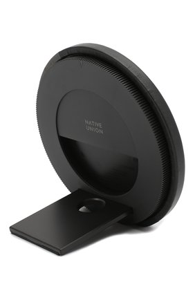 Мужская беспроводное зарядное устройство dock marquetry NATIVE UNION серого цвета, арт. DOCK-WL-MARQ-GRY | Фото 2
