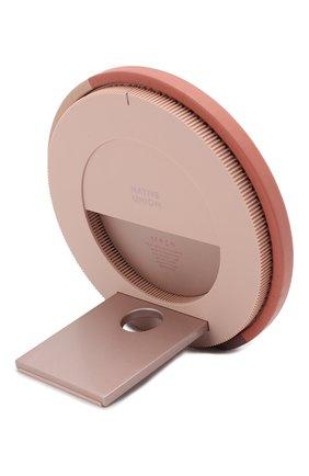 Мужская беспроводное зарядное устройство dock marquetry NATIVE UNION розового цвета, арт. DOCK-WL-MARQ-ROSE | Фото 2