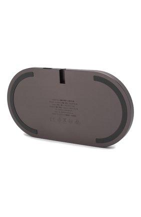 Мужская беспроводное зарядное устройство drop xl NATIVE UNION серого цвета, арт. DROP-XL-GRY-FB-UEU | Фото 2