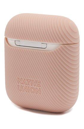 Мужской чехол для airpods NATIVE UNION розового цвета, арт. APCSE-CRVE-ROS   Фото 2