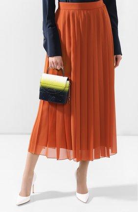 Женская сумка aby lock CHLOÉ синего цвета, арт. CHC20SS220C41   Фото 2