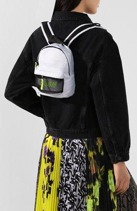 Женский рюкзак MSGM белого цвета, арт. 2841MDZ079 890 | Фото 2