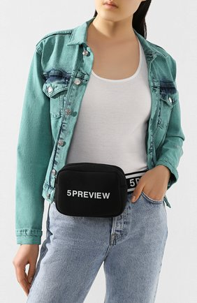 Женская поясная сумка 5PREVIEW черного цвета, арт. W511 | Фото 2