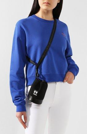 Женская сумка bottle OFF-WHITE черного цвета, арт. 0WNA105R20A370681000 | Фото 2