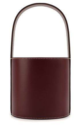 Женская сумка bisset mini STAUD бордового цвета, арт. 07-9115 | Фото 1