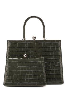 Женская сумка twin frame RATIO ET MOTUS серого цвета, арт. REM20SSTFFGC-SL | Фото 1
