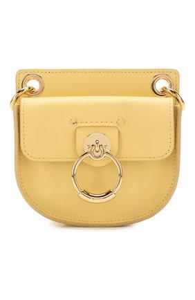 Женская сумка tess mini CHLOÉ желтого цвета, арт. CHC20UP501A37   Фото 1
